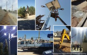 Youth Renovate Streets All the Way from Ersal to Qsarnaba