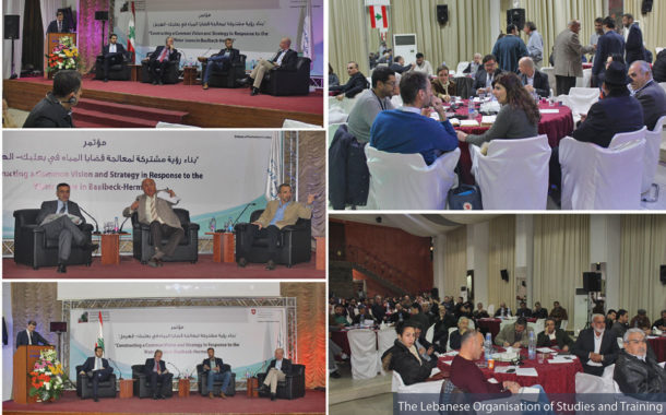 Water Issues in Baalbeck-Hermel; a Pioneer Conference