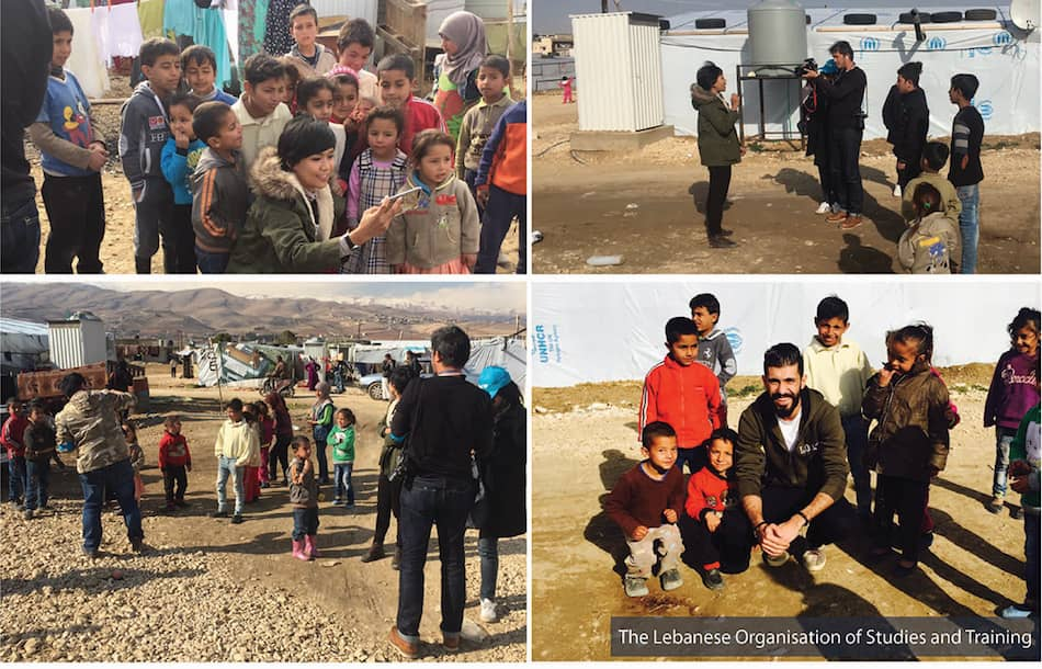 Thailand Delegation Visit, a Closer Look at the Living Conditions of Syrian Refugees