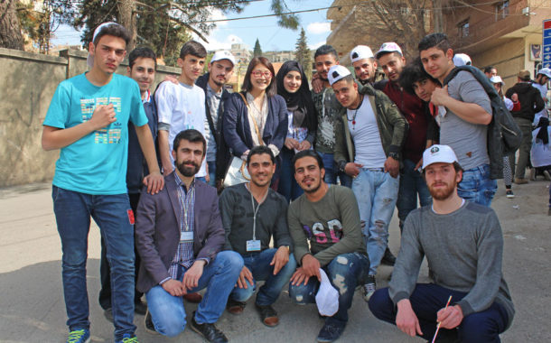 LOST and UNESCO Representatives Observe the Fruitful Activities Carried Out By Youth, which Promote Human Values and Social Cohesion