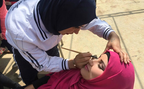 Following a Successful Training Course, a Young Lebanese Participant from Hermel is offered a Job Opportunity as a Make-Up Assistant