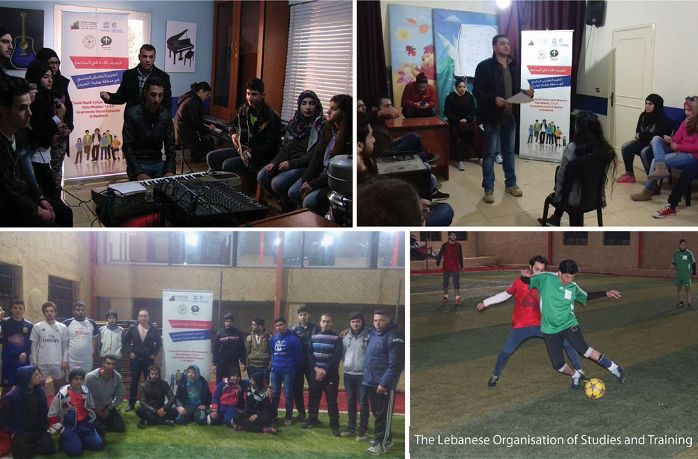 LOST and UNESCO are Promoting Social Cohesion among Lebanese and Syrian Youth in Baalbeck