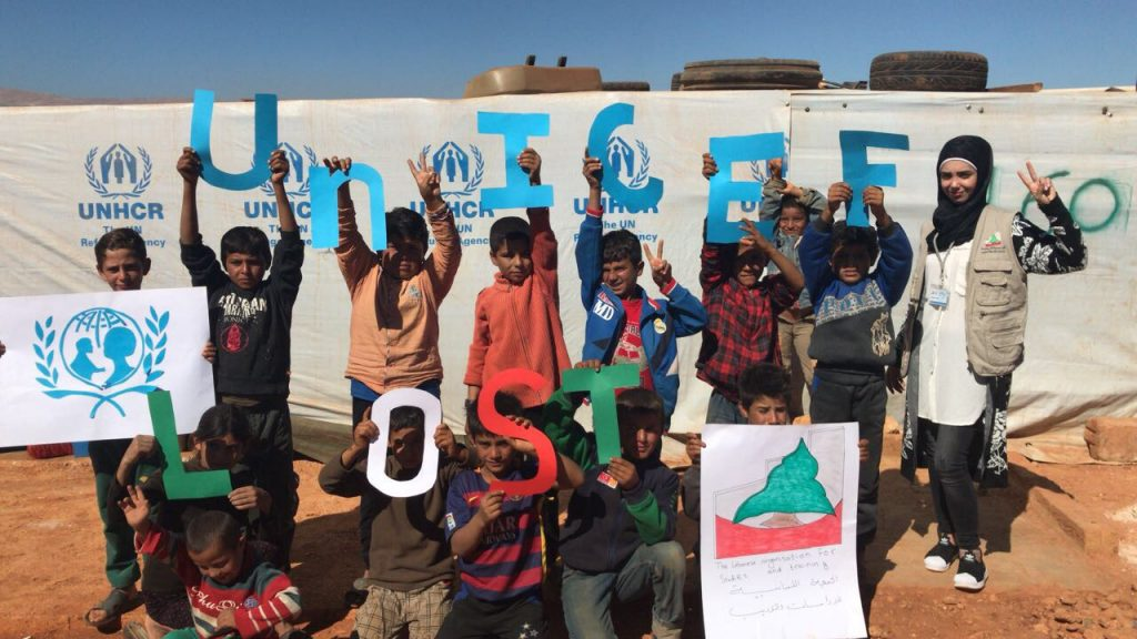 Arsal Children Refugees Dancing to the Tunes of Hygiene