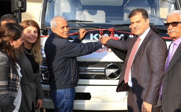 The Municipality of Yamouneh Receives a Garbage Truck for Waste Management