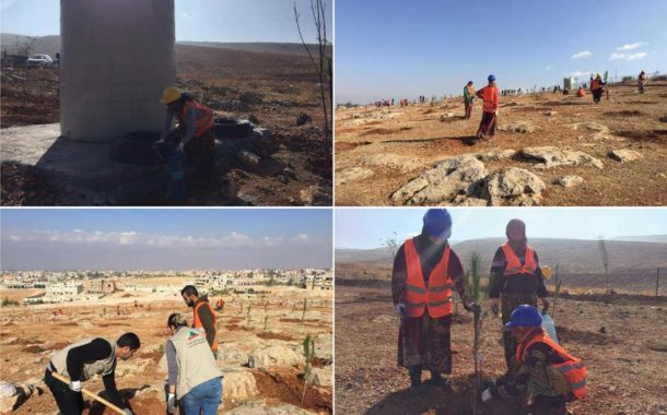 Afforestation of 105 Thousand Meters takes place in Baalbeck-Hermel