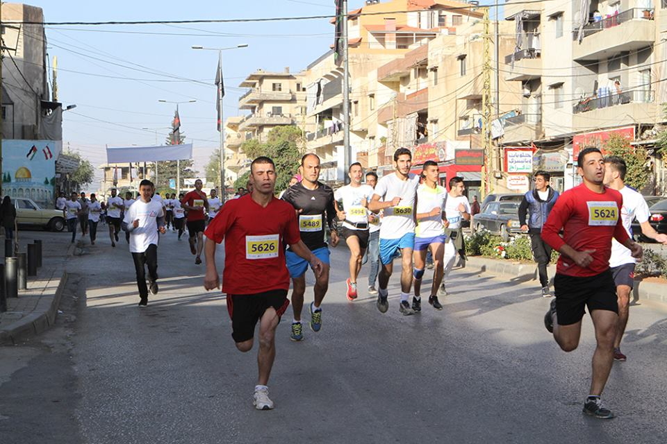LOST and UNICEF hold the Fourth Annual Marathon against Traffic Accidents in Baalbeck-Hermel