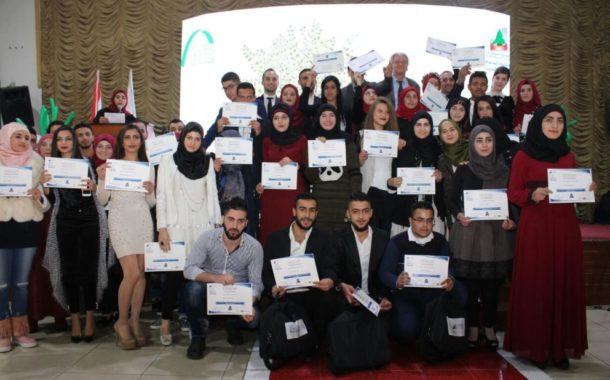 Young Lebanese and Syrians become Certified in Specialized Courses